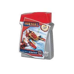 Mega Bloks Iron Man Jet Boat Pursuit (60 pcs) Toys