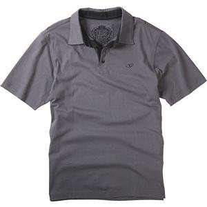 Fox Racing Sporadic Polo   Small/Charcoal Automotive