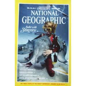 National Geographic Magazine January 1989 Ballet With