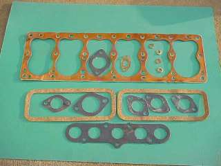 Gasket Set 1934 1948 Plymouth Dodge MoPar NOS 201 218