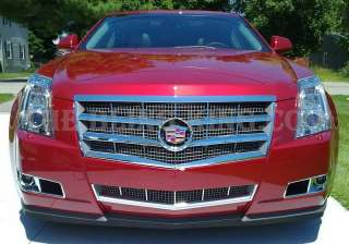 2008 2009 2010 Cadillac CTS chrome GRILLE GRILL INSERT