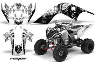 GRAPHIC WRAP OFF ROAD DECO ATV STICKER KIT YAMAHA RAPTOR 700 REAPER W