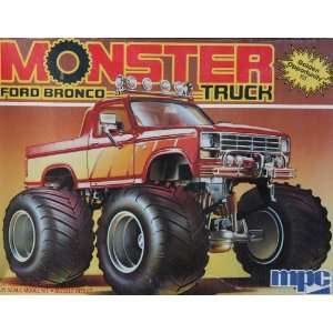 MPC 1 0452 1984 Ford Bronco Monster Truck 1/25 Scale
