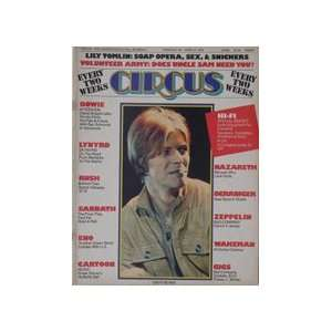Circus Magazine #131 David Bowie Cover 4/27/76