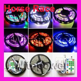 10M 2x5 5050 RGB LED Strip Dream Color Horse Race with Remote