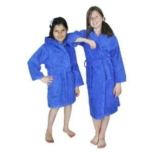 Girls and Boys Kids Hooded Terry Turkish Robe Bathrobe 100