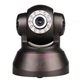 Night Vision Wireless IP Camera Network WIFI Audio Webcam LED Security
