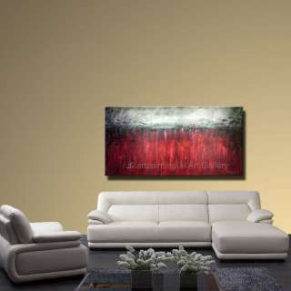 WKS Modern Contemporary Original Abstract Landscape Art Deco Oil