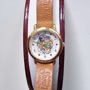 DISNEY SNOW WHITE and THE SEVEN DWARFS LADIES/GIRLS QUARTZ WRISTWATCH