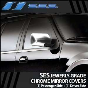 2007 2012 Ford Expedition SES Chrome Mirror Covers