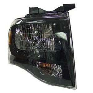 2007 08 FORD EXPEDITION HEADLIGHT ASSEMBLY WITHOUT BLACK