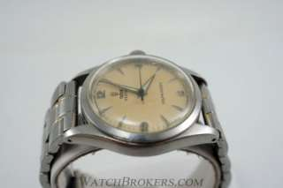 Self winding Automatic Ref 7909 Mens Stainless Steel Watch