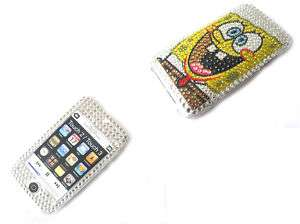 Spongebob Rhinestone bling Case iPod Touch 2nd 3rd 8gb