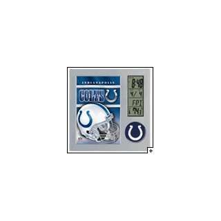Colts Officially licensed Team Desk clock