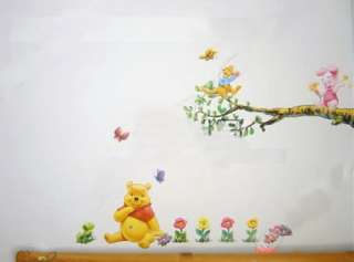 Cute New Disney Winnie Pooh Bear Wall Decal Sticker