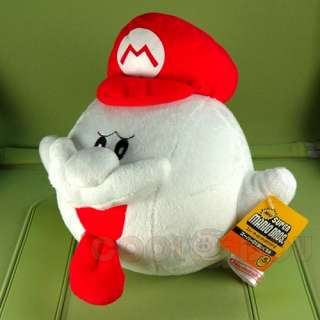 Super Mario Brothers 10 BOO HAT Plush Doll Figure Toy