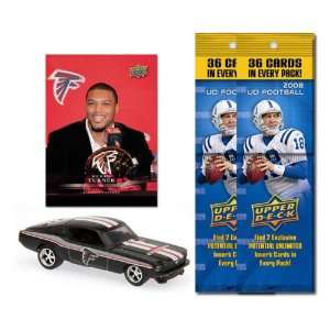 Atlanta Falcons 1967 Ford Mustang Fastback Die Cast with
