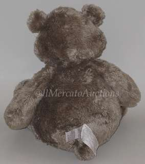 Plush Pot Belly TEDDY BEAR 18 Stuffed Animal Toy Ash Brown