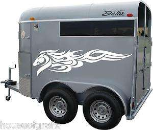 Horse tribal side body graphics decal decals fit any Truck Trailer