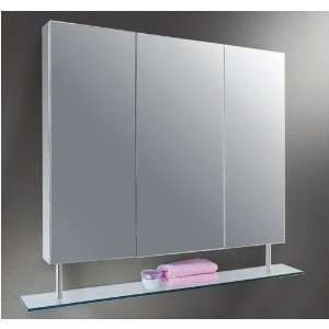 Ketcham 3722 SH S.S Polished Edge Mirror Medicine Cabinet