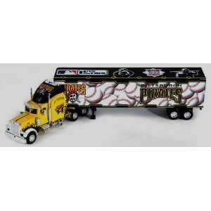 PITTSBURGH PIRATES MLB 2005 Semi Diecast Peterbilt Tractor Trailer