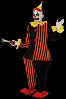 Life Size Animated Evil Honky the Clown Halloween Prop Laughing