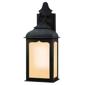Troy Lighting BF2010CI Henry Street Colonial Iron Outdoor Wall Sconce