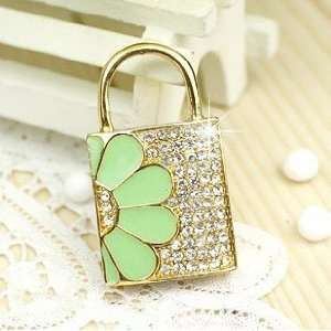 Lock Style USB Flash Drive with Necklace