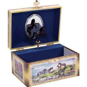 Tin Horse Jewelry Box By Schylling Toys