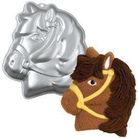 New Wilton PARTY PONY/HORSE CAKE PAN Barn Birthday Party Boy/Girl FREE