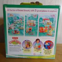 FISHER PRICE SWEET STREETS CITY (Lights & Sound) ~DINNER AND A SHOW