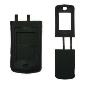 Solid Black Soft Silicone Gel Skin Cover Case for Motorola