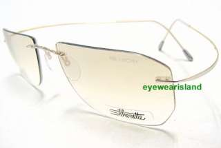 Minimal Art Special Edition 7695 6112 Silver Optical Frame