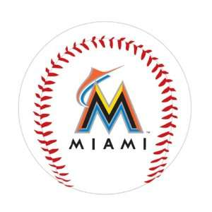 MLB Miami Marlins K2 Baseball with Team Logo  Sports