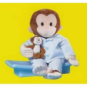 12 Curious George In Pajamas Plush Doll By RUSS