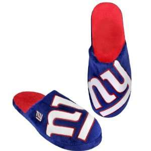 NEW YORK GIANTS OFFICIAL LOGO PLUSH SLIPPERS SIZE XL