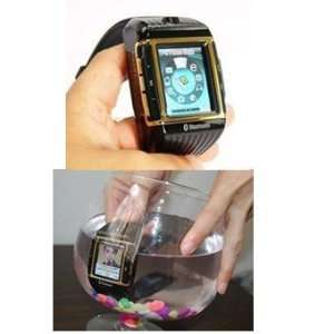 New water proof Quadband watch cell phone Electronics