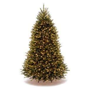 Dunhill Fir Hinged Tree with 750 Low Voltage Soft White LED Lights