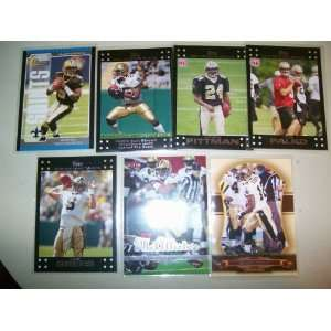 brees, reggie bush, marques colston, mcallister
