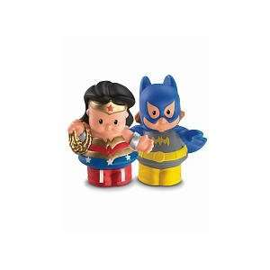 Little People DC Super Friends~Wonder Woman & Batgirl