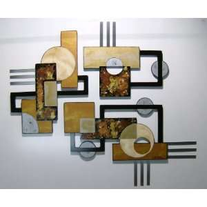Abstract Wall Art Wood Sculpture, Design by Alisa