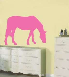 Horse Pony Wall Vinyl Sticker/Decal 5