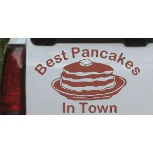 Best Pancakes in Town Restaurant Business Car Window Wall Laptop Decal