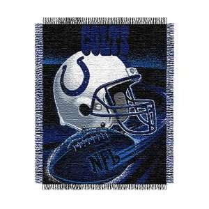 Indianapolis Colts Triple Woven Jacquard NFL Throw (Spiral