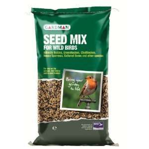 20kg Gardman Wild Bird Seed Mix Patio, Lawn & Garden