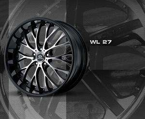 WHEELS TIRES 5X115 CHARGER MAGNUM CHRYSLER 300 RWD LORENZO WL27