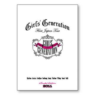 SNSD Girls Generation 2011 1st Japan Tour PAMPHLET Ltd