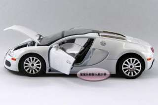 Vayron Limited Edition 124 Alloy Diecast Model Car White B174d
