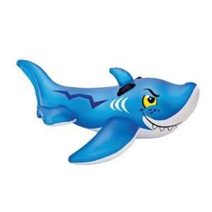 Friendly Shark Ride on Swimming Pool Toy 60.5x41 Toys & Games