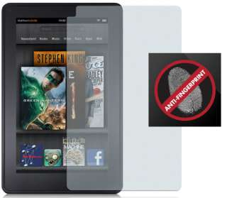 GLARE FINGERPRINT LCD SCREEN PROTECTOR SAVER FOR  KINDLE FIRE 7